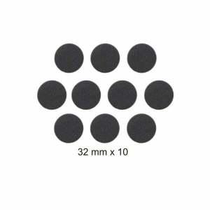 10 Generic 32mm Round Bases