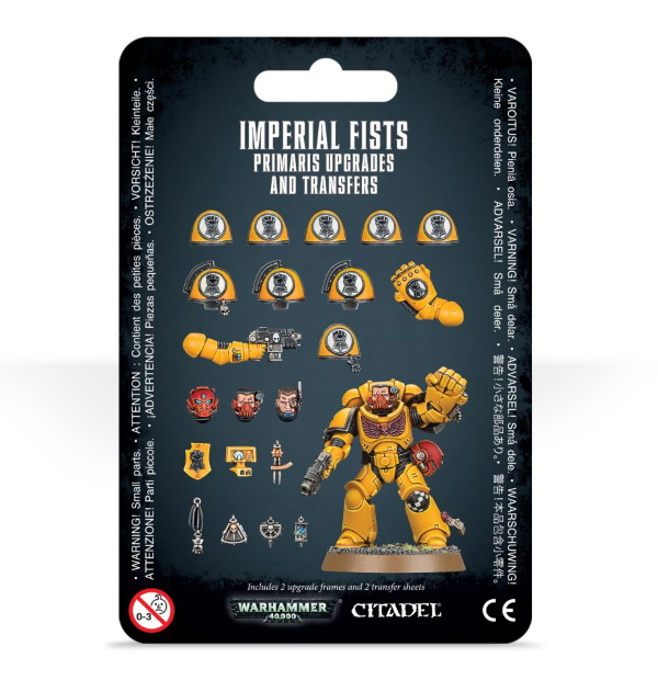 Imperial Fists Primaris Upgrades and Transfers