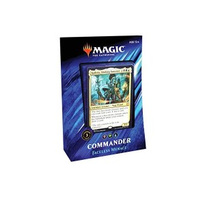 Magic the Gathering: Faceless Menace Commander 2019 Deck