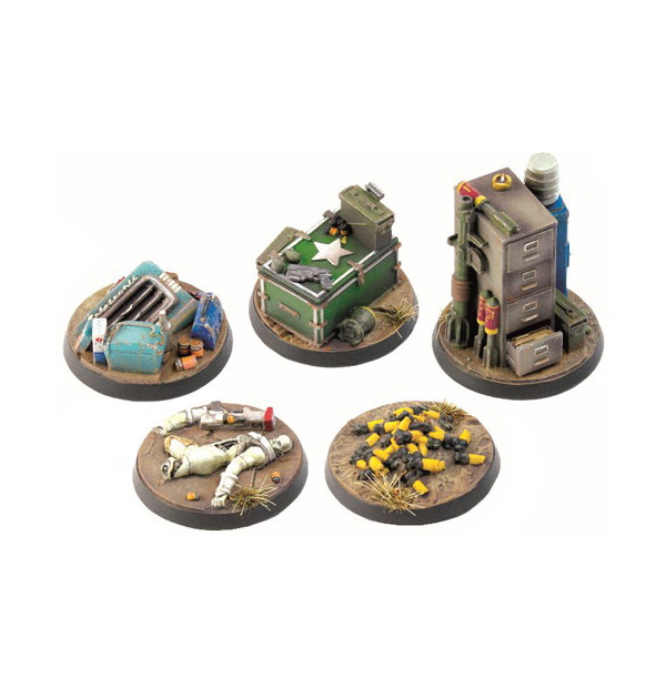 Fallout: Wasteland Warfare - Objective Markers 2