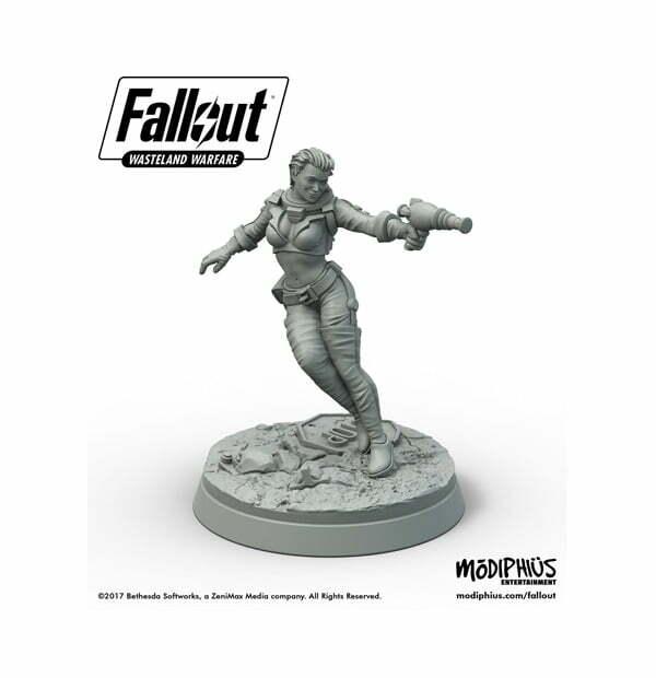 Fallout: Wasteland Warfare - Nuka Cola Girl