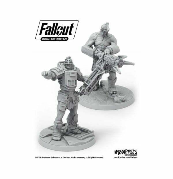 Fallout: Wasteland Warfare - Super Mutants Fist & Overlord