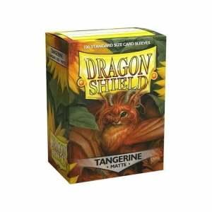 Dragon Shield Matte Sleeves Tangerine 100