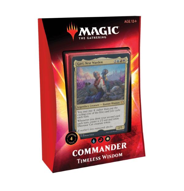 Magic the Gathering: Timeless Wisdom Commander 2020 Deck