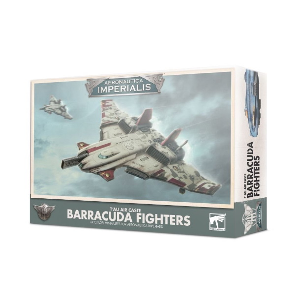 T'au Air Caste Barracuda Fighters
