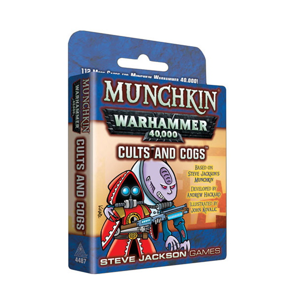 Munchkin Warhammer 40000: Cults and Cogs Exp.