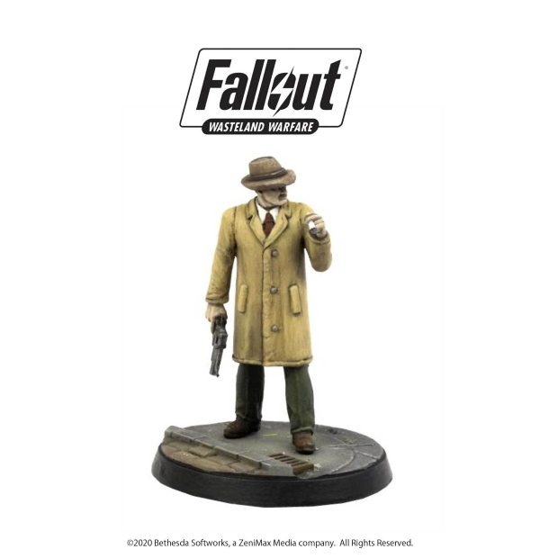 Fallout: Wasteland Warfare - Mysterious Stranger