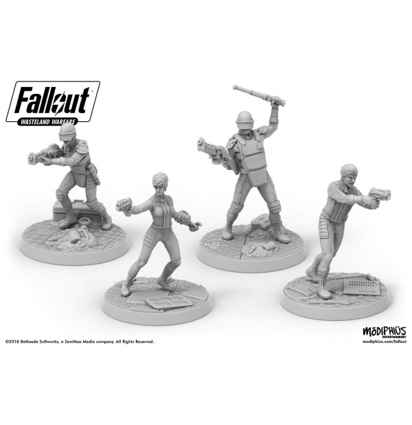 Fallout: Wasteland Warfare - Vault Personnel