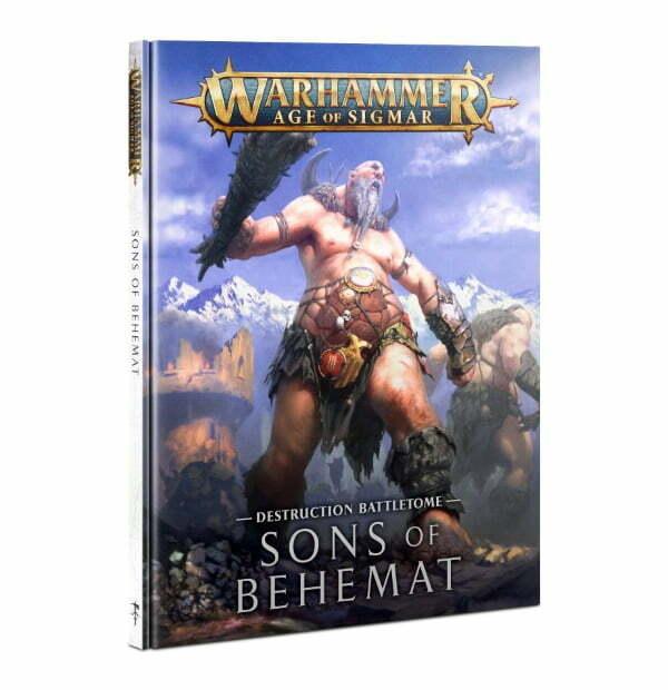 Battletome: Sons of Behemat