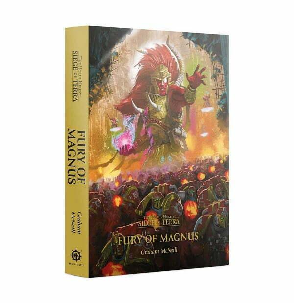 Horus Heresy: Siege of Terra: Fury of Magnus (HB)