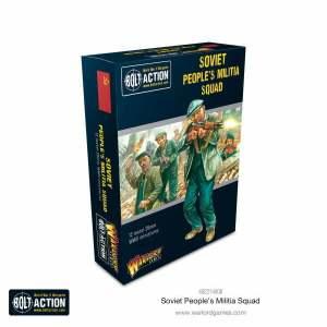 Soviet Peoples Militia squad