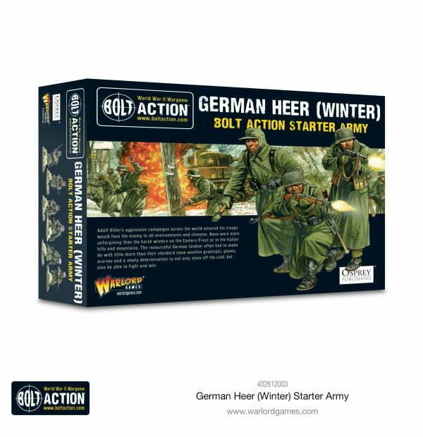German Heer (Winter) starter army