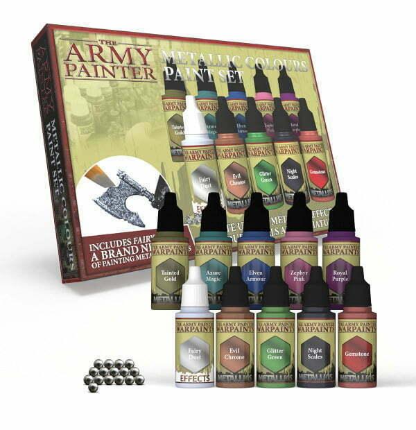 Warpaints Metallic Colours Paint Set