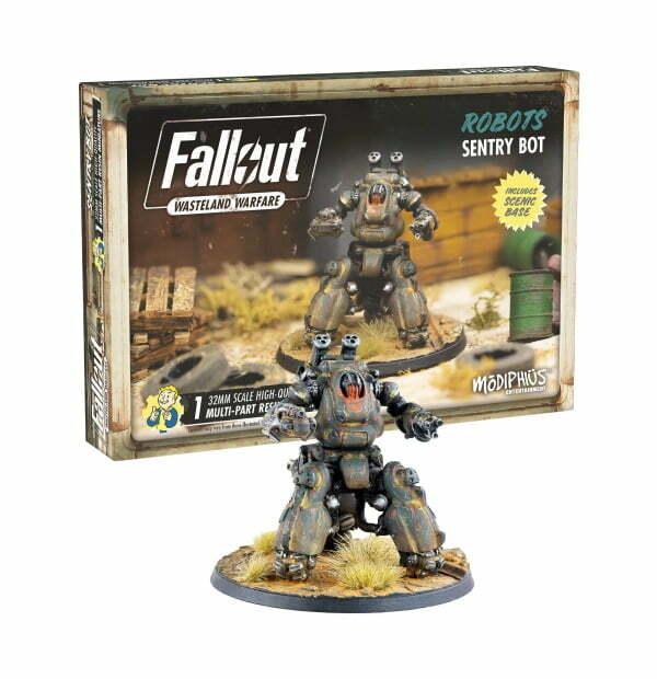 Fallout: Wasteland Warfare - Robots: Sentry Bot