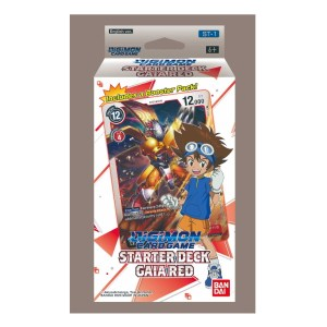 Digimon Trading Card Game: Starter Deck- Gaia Red ST-1