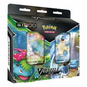 Pokémon Trading Card Game: Blastoise V & Venusaur V Battle Deck Bundle