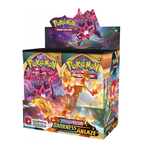 Pokémon Trading Card Game: Sword and Shield Darkness Ablaze Booster Box