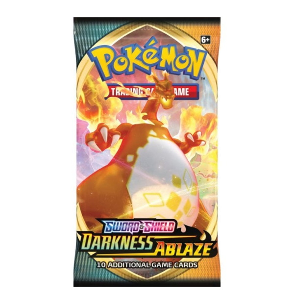 Pokémon Trading Card Game: Sword and Shield Darkness Ablaze Booster