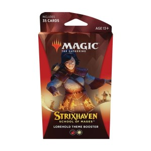 Magic the Gathering: Strixhaven: School of Mages Lorehold Theme Booster