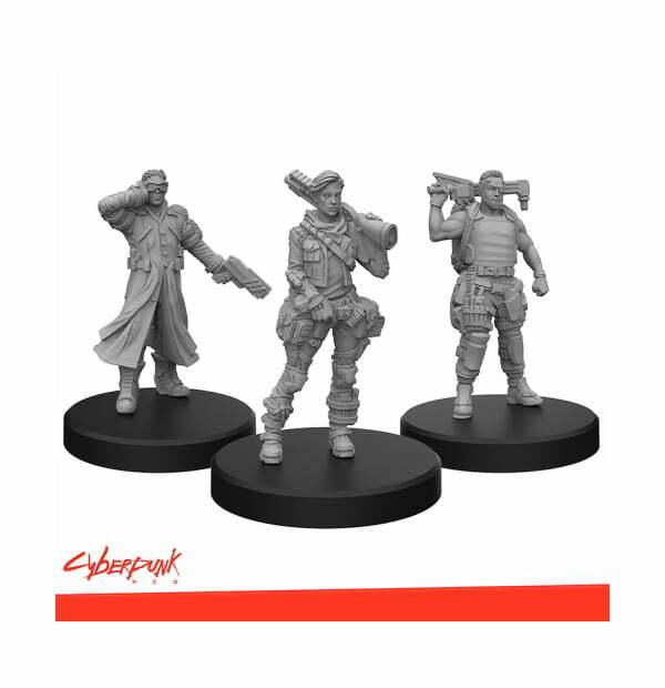 Cyberpunk RED Miniatures - Edgerunners B