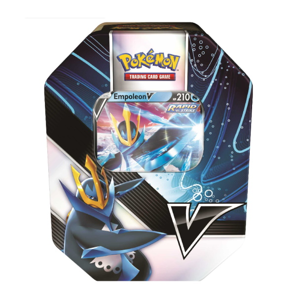 Pokémon Trading Card Game: Empoleon V Strikers Tin