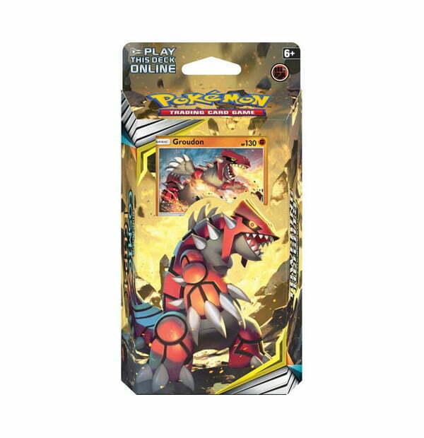 Pokemon Trading Card Game: Sun & Moon Cosmic Eclipse Groudon Theme Deck