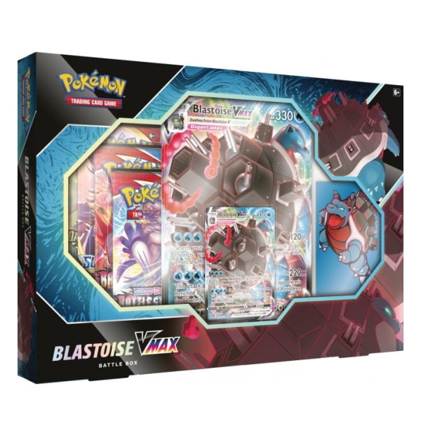 Pokémon Trading Card Game: Blastoise VMAX Battle Box