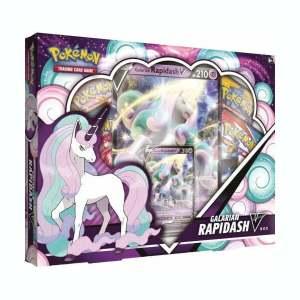 Pokémon Trading Card Game: Galarian Rapidash V Collection Box
