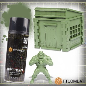 Tank Green Spray Primer