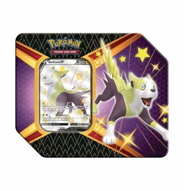 Pokémon Trading Card Game: Shining Fates Boltund V Tin