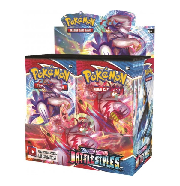 Pokémon Trading Card Game: Sword and Shield Battle Styles Booster Box