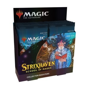 Magic the Gathering: Strixhaven: School of Mages Collector Booster Box
