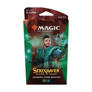 Magic the Gathering: Strixhaven: School of Mages Quandrix Theme Booster