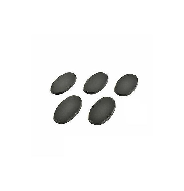 5 Generic 60x35mm Oval Bases