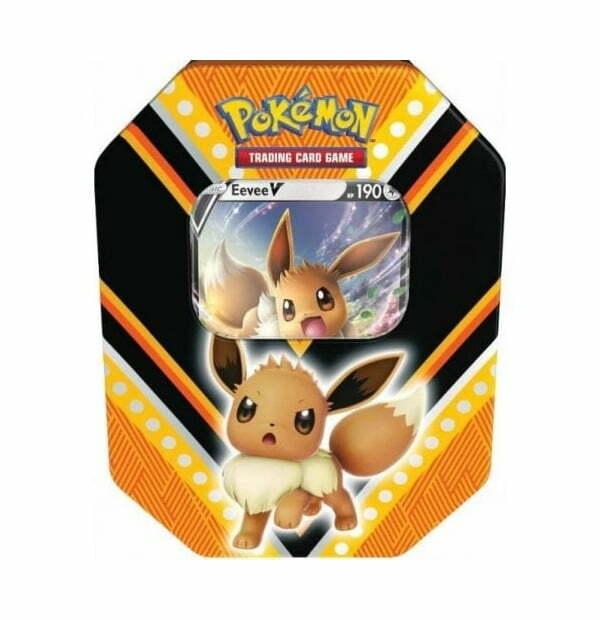 Pokémon Trading Card Game: Eevee V Power Tin