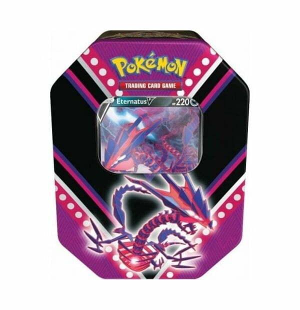 Pokémon Trading Card Game: Eternatus V Power Tin