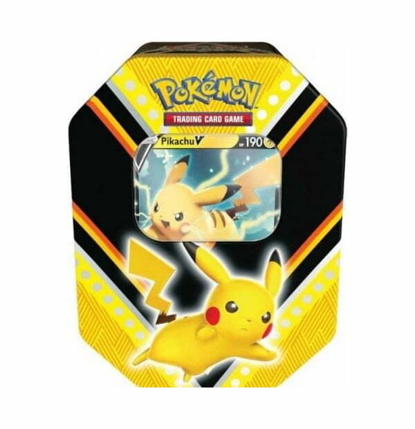 Pokémon Trading Card Game: Pikachu V Power Tin