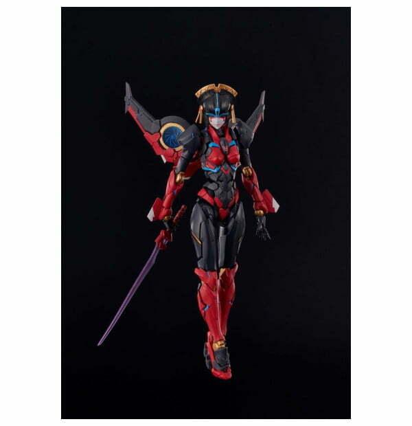 Transformers Furai Model Plastic Model Kit Windblade 16 cm