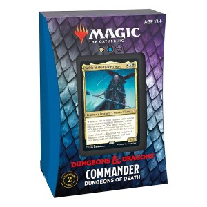Magic the Gathering: D&D Adventures in the Forgotten Realms Dungeons of Death Commander Deck