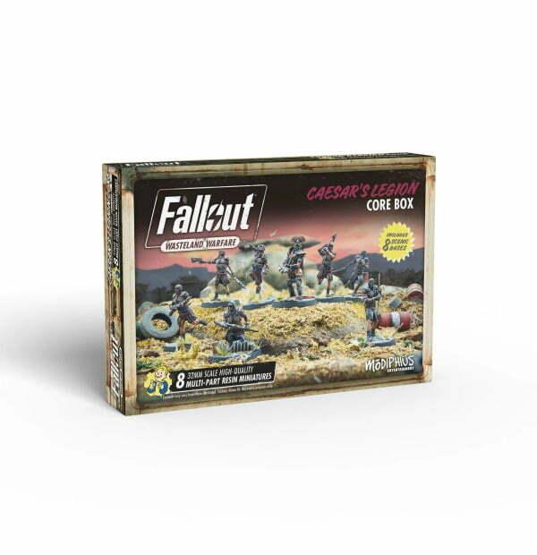 Fallout: Wasteland Warfare - Caeser's Legion: Core Box