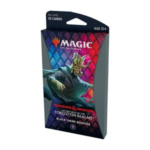 Magic the Gathering: D&D Adventures in the Forgotten Realms Black Theme Booster Pack