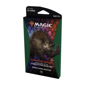 Magic the Gathering: D&D Adventures in the Forgotten Realms Green Theme Booster Pack