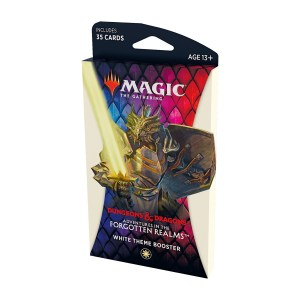Magic the Gathering: D&D Adventures in the Forgotten Realms White Theme Booster Pack