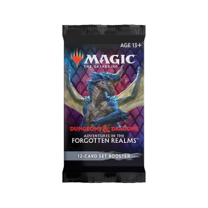 Magic the Gathering: D&D Adventures in the Forgotten Realms Set Booster