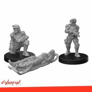 Cyberpunk RED Miniatures - Trauma Team A