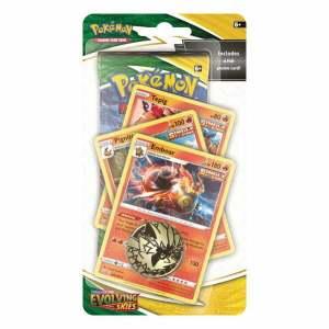 Pokémon Trading Card Game: Sword and Shield - Evolving Skies Premium Checklane Blister Emboar
