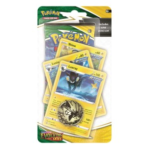 Pokémon Trading Card Game: Sword and Shield - Evolving Skies Premium Checklane Blister Luxray