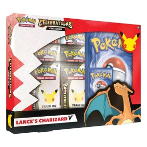 Pokémon Trading Card Game: Celebrations V Box - Lance's Charizard VPokémon Trading Card Game: Celebrations V Box - Lance's Charizard V