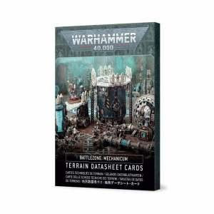 Battlezone: Mechanicum – Terrain Datasheet Cards