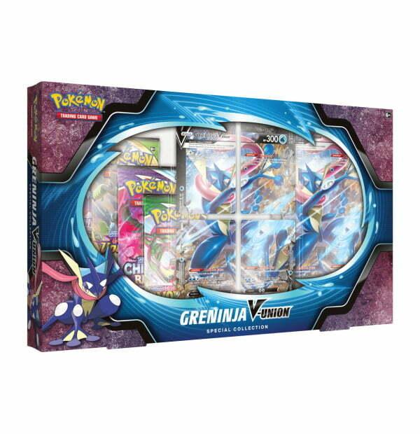 Pokémon Trading Card Game: Greninja V-Union Special Collection